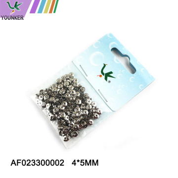 Wholesale Metal and Silicone Clutch for Earring